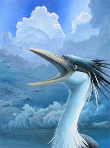 The Storm, painting by Murray Charteris