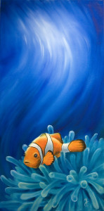 Reef Sanctuary, painting by Murray Charteris