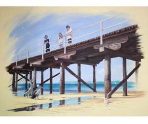 Sea Change 2, painting by Murray Charteris