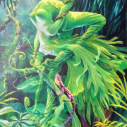 Belonging, Painting by Murray Charteris